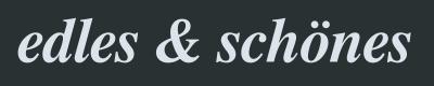 Logo edles & schönes Thun